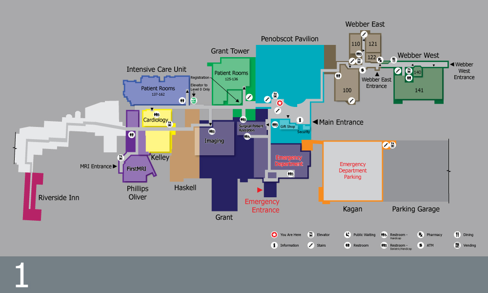 SPS Wayfinding Map